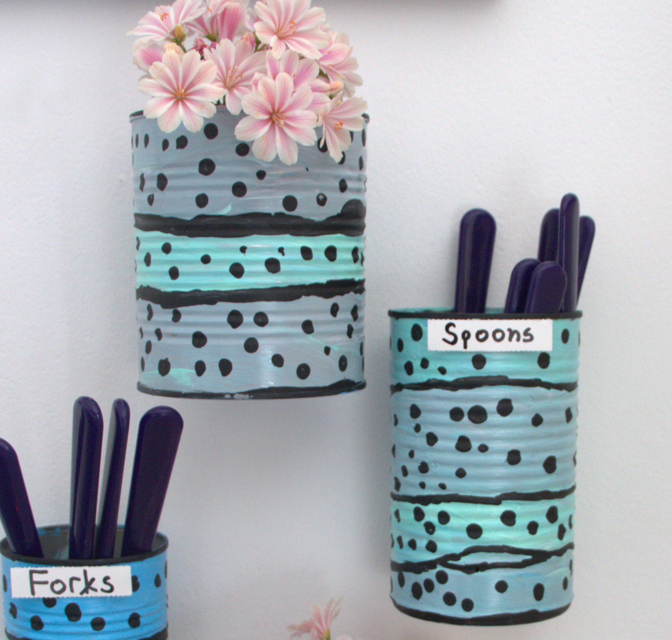 Tin cans for crafts - Tin Cans For Crafts 51